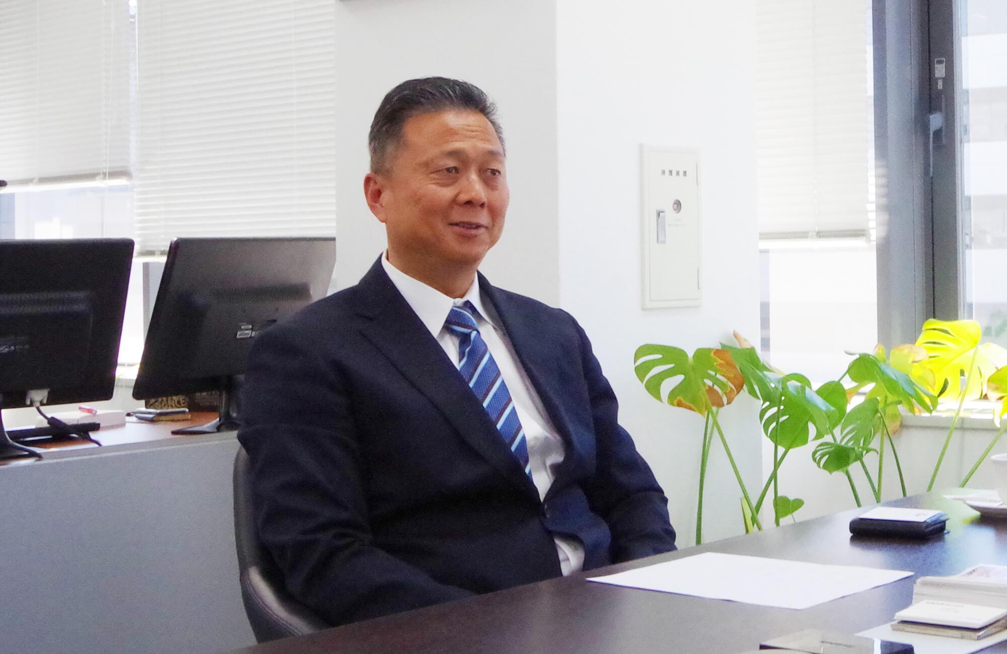 【朝暘物産株式会社】代表取締役社長 太田 恵三